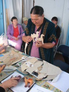 Local communities produce handicrafts to help save cats