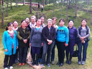 group photo from Western Mongolia