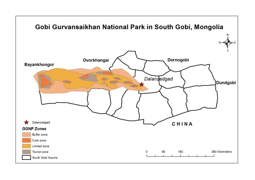 GGNP map