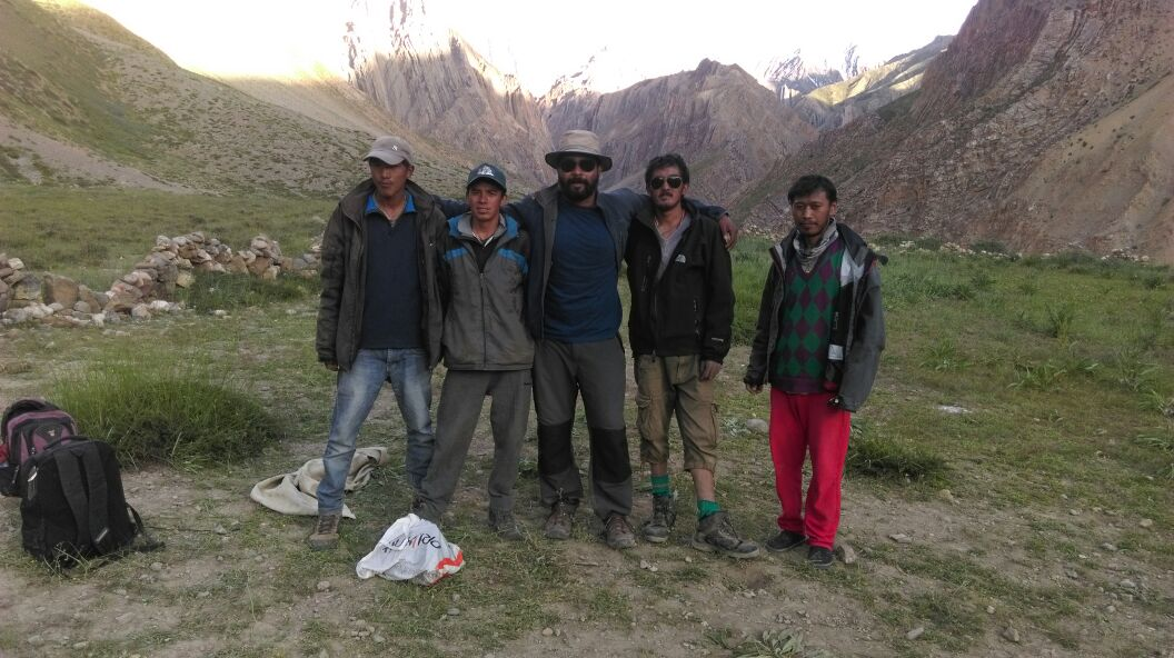 Abhishek and his team