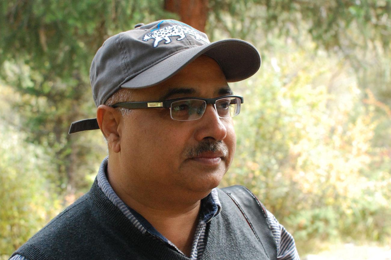 Ali Nawaz, the Snow Leopard Trust's Pakistan Program Director and a 2016 Whitley Award winner