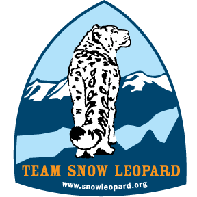 Team Snow Leopard Badge